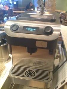 clover press coffee machine