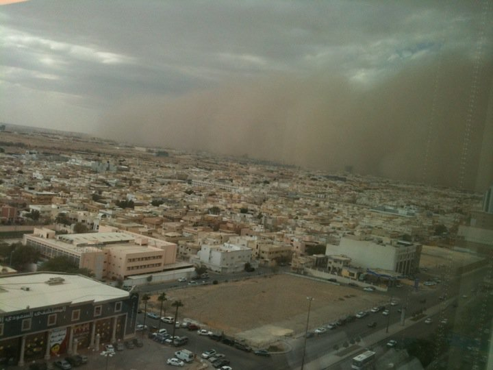 Sandstorm alert in Riyadh on